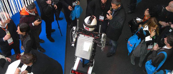 Hotshot The Robot - DLD Conference Germany